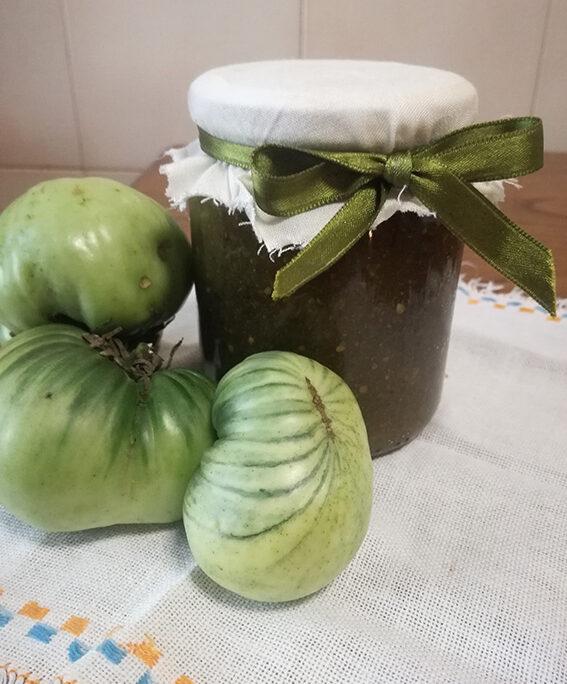 Composta Pomodori Verdi